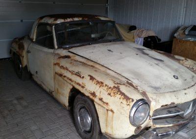 MB W121 190 SL Bj. 1960