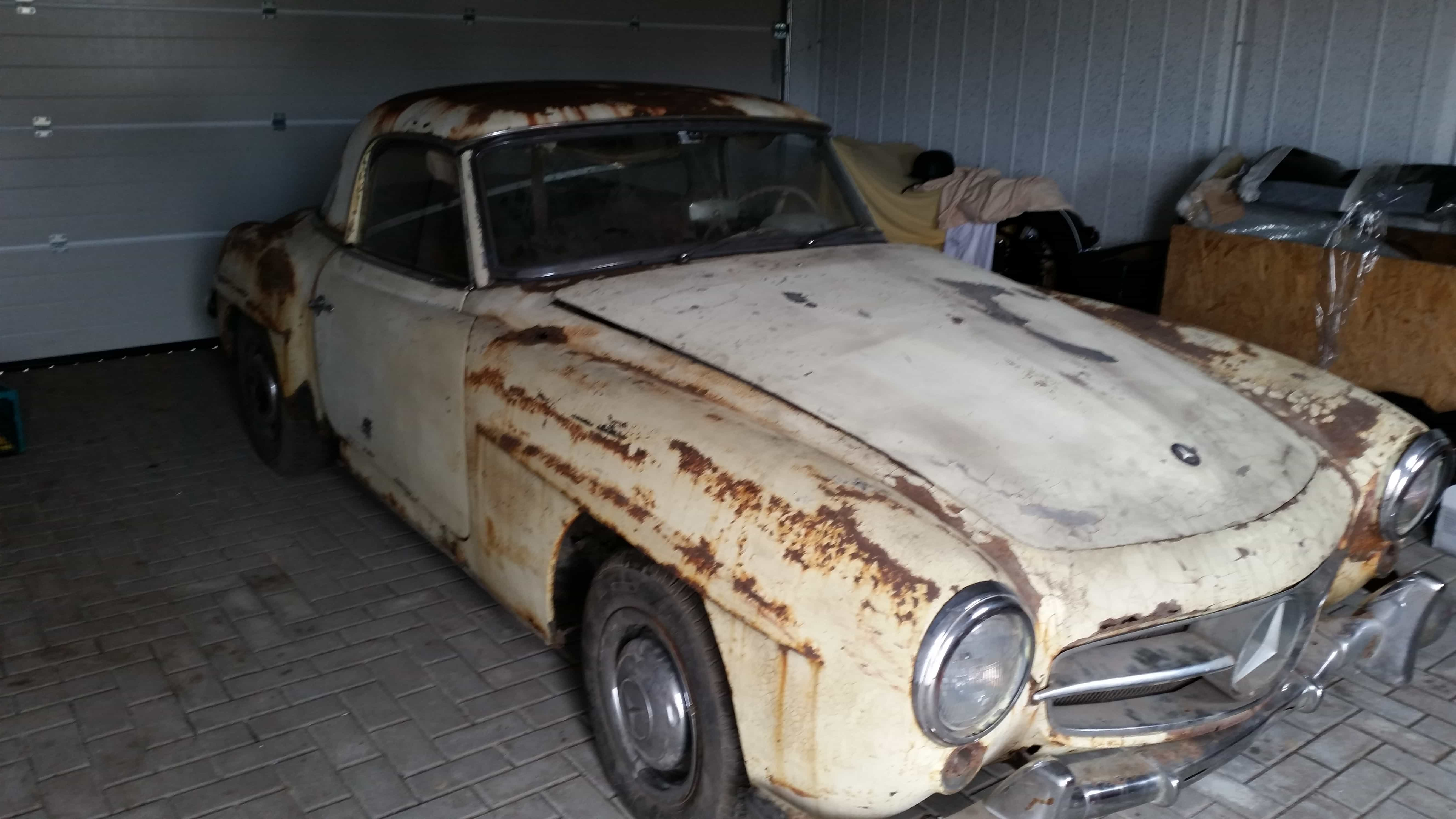 oldtimer-youngtimer-restauration-osteuropa-tschechei-mercedes-benz-mb-190sl