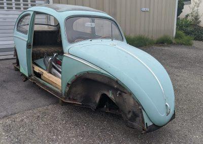 VW Käfer Faltdach Bj. 1961